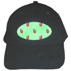 Pretty Background With A Ladybird Image Black Cap