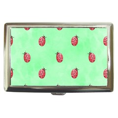 Pretty Background With A Ladybird Image Cigarette Money Cases