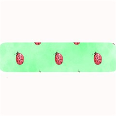 Pretty Background With A Ladybird Image Large Bar Mats
