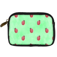 Pretty Background With A Ladybird Image Digital Camera Cases
