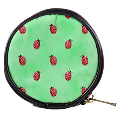 Pretty Background With A Ladybird Image Mini Makeup Bags