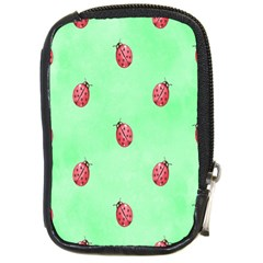 Pretty Background With A Ladybird Image Compact Camera Cases