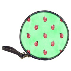 Pretty Background With A Ladybird Image Classic 20 Cd Wallets