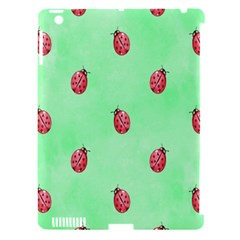 Pretty Background With A Ladybird Image Apple iPad 3/4 Hardshell Case (Compatible with Smart Cover)