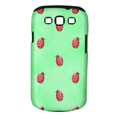 Pretty Background With A Ladybird Image Samsung Galaxy S Iii Classic Hardshell Case (pc+silicone)