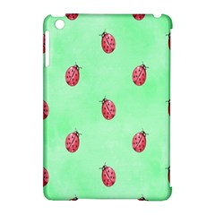Pretty Background With A Ladybird Image Apple iPad Mini Hardshell Case (Compatible with Smart Cover)