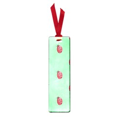Pretty Background With A Ladybird Image Small Book Marks