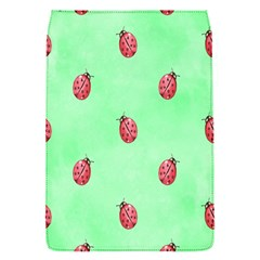 Pretty Background With A Ladybird Image Flap Covers (s)