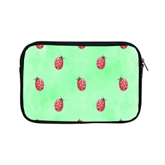 Pretty Background With A Ladybird Image Apple Ipad Mini Zipper Cases