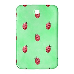 Pretty Background With A Ladybird Image Samsung Galaxy Note 8.0 N5100 Hardshell Case