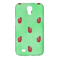 Pretty Background With A Ladybird Image Samsung Galaxy Mega 6.3  I9200 Hardshell Case