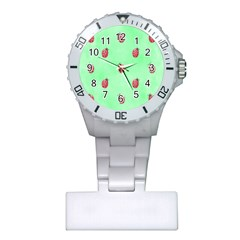 Pretty Background With A Ladybird Image Plastic Nurses Watch