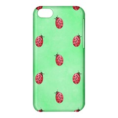 Pretty Background With A Ladybird Image Apple Iphone 5c Hardshell Case