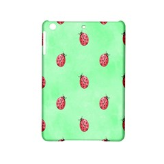 Pretty Background With A Ladybird Image Ipad Mini 2 Hardshell Cases