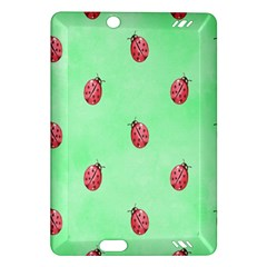Pretty Background With A Ladybird Image Amazon Kindle Fire HD (2013) Hardshell Case
