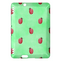 Pretty Background With A Ladybird Image Kindle Fire Hdx Hardshell Case