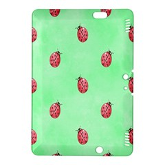 Pretty Background With A Ladybird Image Kindle Fire HDX 8.9  Hardshell Case