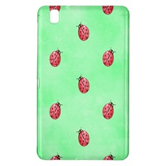 Pretty Background With A Ladybird Image Samsung Galaxy Tab Pro 8 4 Hardshell Case