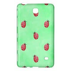 Pretty Background With A Ladybird Image Samsung Galaxy Tab 4 (7 ) Hardshell Case