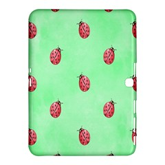 Pretty Background With A Ladybird Image Samsung Galaxy Tab 4 (10 1 ) Hardshell Case