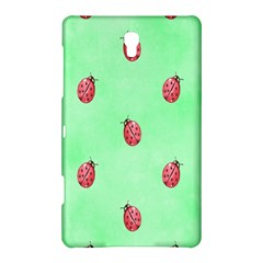 Pretty Background With A Ladybird Image Samsung Galaxy Tab S (8 4 ) Hardshell Case