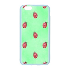 Pretty Background With A Ladybird Image Apple Seamless iPhone 6/6S Case (Color)