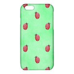 Pretty Background With A Ladybird Image iPhone 6/6S TPU Case
