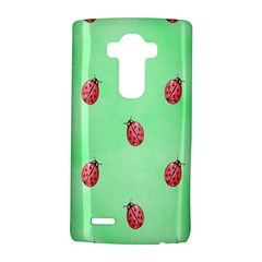 Pretty Background With A Ladybird Image LG G4 Hardshell Case