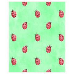 Pretty Background With A Ladybird Image Drawstring Bag (small)