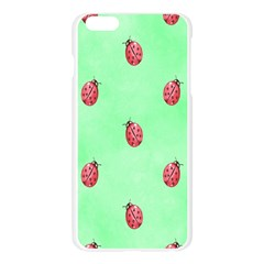 Pretty Background With A Ladybird Image Apple Seamless iPhone 6 Plus/6S Plus Case (Transparent)