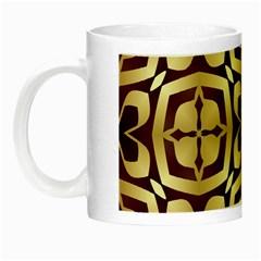 Abstract Seamless Background Pattern Night Luminous Mugs