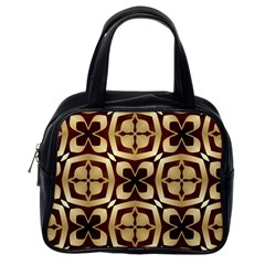 Abstract Seamless Background Pattern Classic Handbags (One Side)
