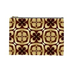 Abstract Seamless Background Pattern Cosmetic Bag (Large)