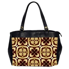 Abstract Seamless Background Pattern Office Handbags (2 Sides)