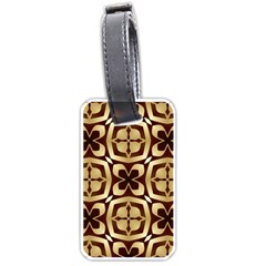 Abstract Seamless Background Pattern Luggage Tags (Two Sides)