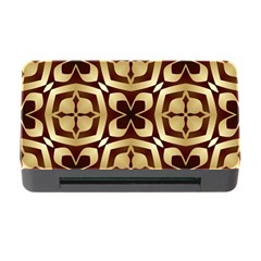 Abstract Seamless Background Pattern Memory Card Reader With Cf