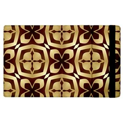 Abstract Seamless Background Pattern Apple Ipad 2 Flip Case