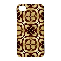 Abstract Seamless Background Pattern Apple Iphone 4/4s Hardshell Case With Stand
