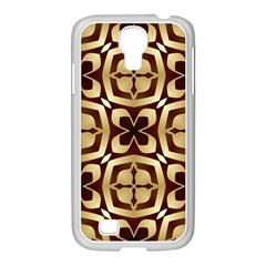 Abstract Seamless Background Pattern Samsung Galaxy S4 I9500/ I9505 Case (white)