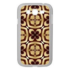 Abstract Seamless Background Pattern Samsung Galaxy Grand DUOS I9082 Case (White)