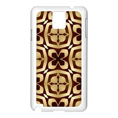 Abstract Seamless Background Pattern Samsung Galaxy Note 3 N9005 Case (white)