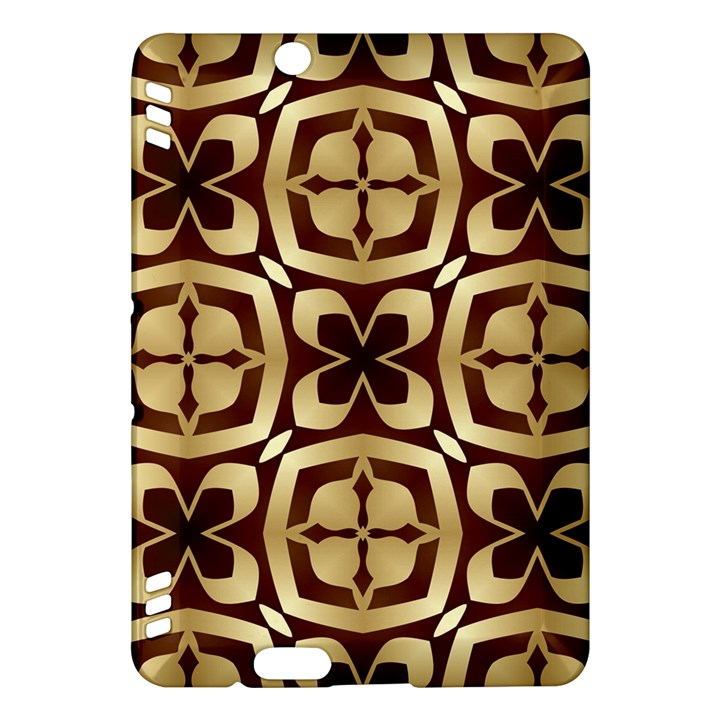 Abstract Seamless Background Pattern Kindle Fire HDX Hardshell Case