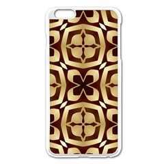 Abstract Seamless Background Pattern Apple Iphone 6 Plus/6s Plus Enamel White Case