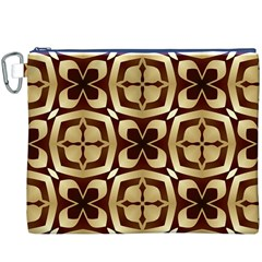 Abstract Seamless Background Pattern Canvas Cosmetic Bag (xxxl)