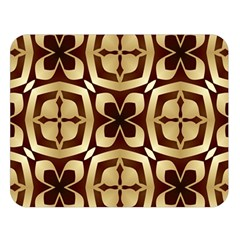 Abstract Seamless Background Pattern Double Sided Flano Blanket (Large)