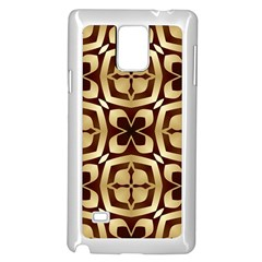 Abstract Seamless Background Pattern Samsung Galaxy Note 4 Case (White)