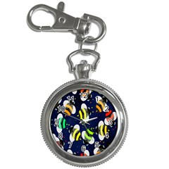 Bees Cartoon Bee Pattern Key Chain Watches