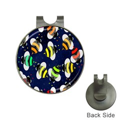 Bees Cartoon Bee Pattern Hat Clips with Golf Markers