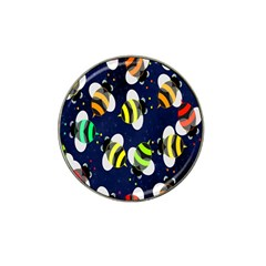 Bees Cartoon Bee Pattern Hat Clip Ball Marker (10 pack)