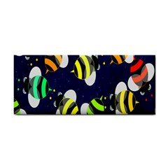 Bees Cartoon Bee Pattern Cosmetic Storage Cases